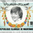 MAURITANIA - 1982: shows Diana, 21st Birthday of Princess Diana — Stock Photo