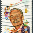 USA - 1968: shows Walt Disney and Children of the World — Foto de Stock