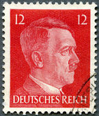 GERMAN REICH - 1940's: shows portrait of Adolf Hitler (1889-1945 — Stock Photo