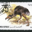 YEMEN REPUBLIC - CIRCA 1990: A stamp printed in Yemen shows Phor — Stock Photo