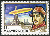 HUNGARY - CIRCA 1977: A stamp printed in Hungary, shows Alberto — Stock Photo