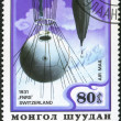MONGOLIA - CIRCA 1982: A stamp printed in Mongolia shows stratos - Stock Photo