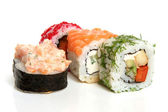 Rouleaux de sushi — Photo