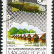 Royalty-Free Stock Photo: HUNGARY - CIRCA 1981: A stamp printed by Hungary, shows Graf Zep