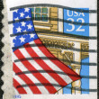 UNITED STATES OF AMERICA - CIRCA 1995: A stamp printed in the US — Stock Photo #8610976