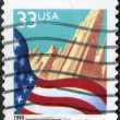 UNITED STATES OF AMERICA - CIRCA 1999: A stamp printed in the US — Stock Photo