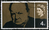 Sir Winston Spencer Churchill (1874-1965), statesman and WWII leader — Stock Photo