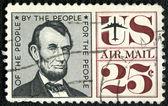 USA - CIRCA 1959: shows president Abraham Lincoln (1809-1865) — Stock Photo