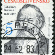 CZECHOSLOVAKIA - CIRCA 1983: shows Johannes Brahms (1833-1897) - Stock Photo