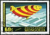MONGOLIA - CIRCA 1977: shows Aeron-340; Russian planned — Stock Photo