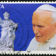 MALT- CIRC2001: shows John Paul II (1920-2005), statue — Stock Photo #8934447