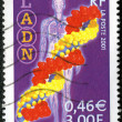 FRANCE - CIRCA 2001: A stamp printed in France shows DNA — Stock Photo