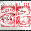 GGERMANY - CIRC1965: shows Pavel Belyayev and Alexei Leonov — Zdjęcie stockowe #9070188