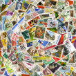 Postage stamps of the different countries — Stock Photo #9289502