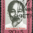 Stock Photo: GERMANY- 1970: shows Ho Chi Minh, surtax was for North Viet Nam