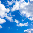 Background abstract: blue sky and clouds — Stock Photo