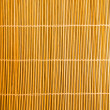 Bamboo stick straw mat texture — Stock Photo