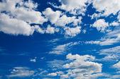 蓝天 白云 — 图库照片