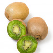 Kiwi isolated on white background — Stock Photo #9966600