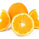 Oranges isolated — Stock Photo