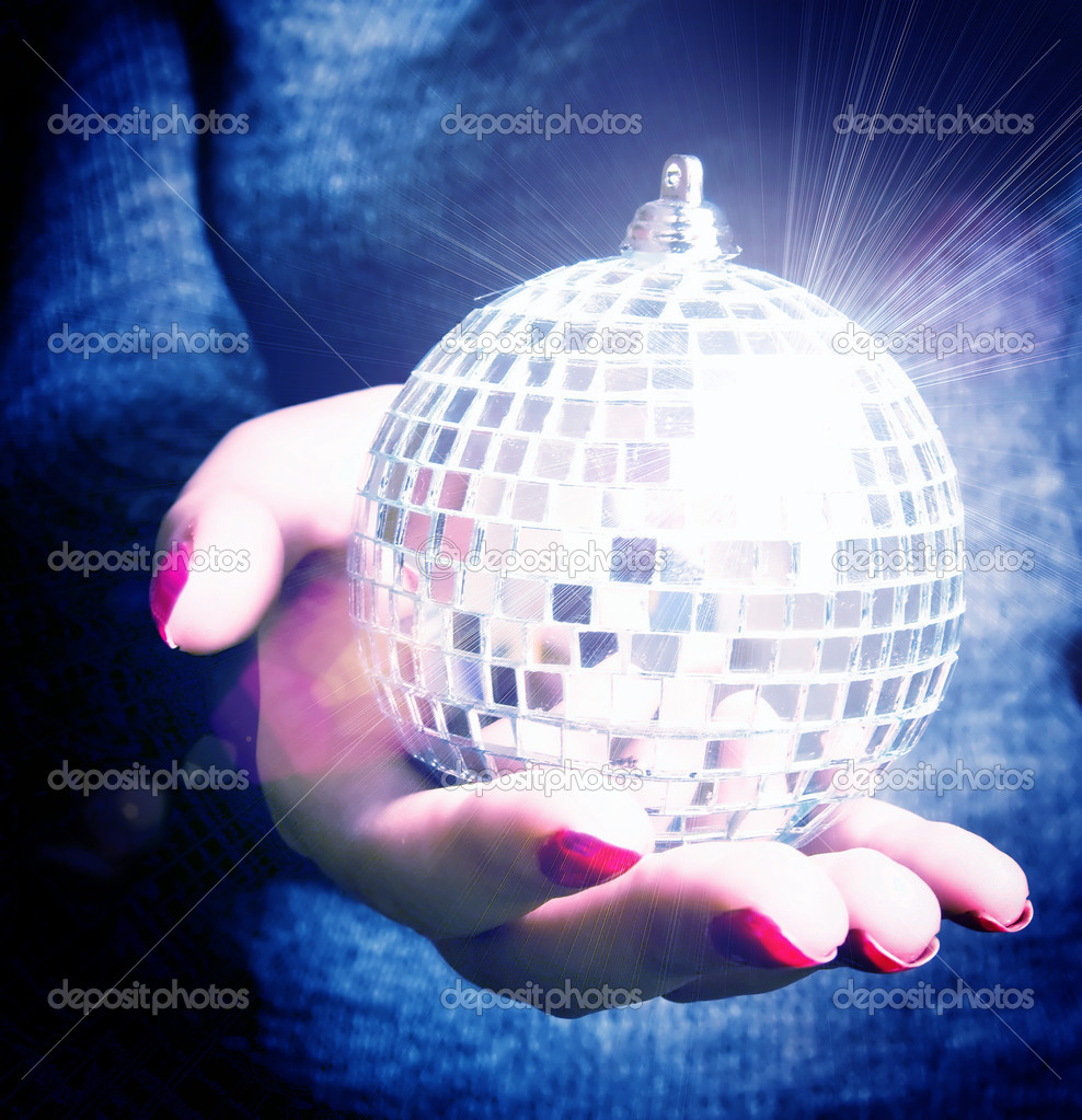 Mirror ball — Stock Photo #9976423