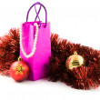 Stock Photo: Christmas presents of gifts for woman
