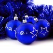 Blue balls — Stock Photo #9983618