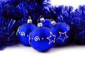 Bolas azules — Foto de Stock