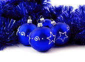 Blue balls — Stock Photo