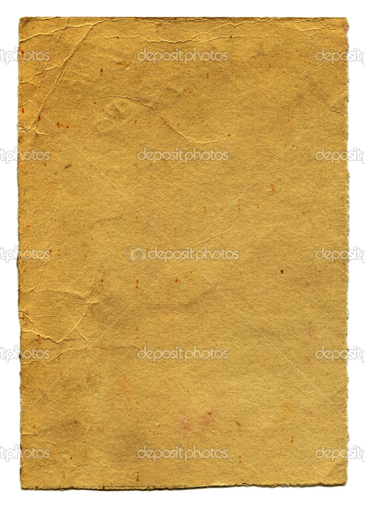 High resolution sheet of vintage paper. — Stock Photo #9447466