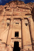 Urn Tomb in Petra, Jordan — Stock Photo