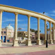Colonnade in Sharm El Sheikh, Egypt - Stock Photo