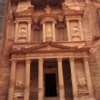 Al Khazneh or The Treasury at Petra, Jordan - Stock Photo