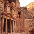 Stock Photo: Al Khazneh or Treasury at Petra, Jordan