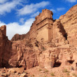 Stock Photo: Tombs in Petra, Jordan