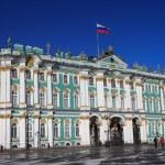 Winter Palace, St.Petersburg, Russia — Stock Photo