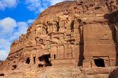The Palace and Corinthian Tombs, Petra, Jordan — Stock Photo