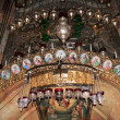 Stock Photo: The icons above the entrance to the tomb of Jesus Christ