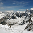 Snowy Alps — Stock Photo #9390443