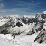 Snowy Alps — Stock Photo