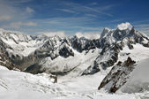 Snowy Alps — Stock Photo