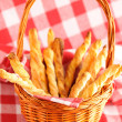 Cheese twists pastry - Foto de Stock