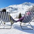 Apres ski at mountains — Stock Photo #10656049