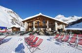 山滑雪度假村 — 图库照片