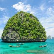Uninhabited island - Stock Photo