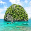 Uninhabited island — Stock Photo