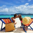 Couple on a beach — Stock Photo #9411343