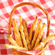 Cheese twists pastry - Stock Photo