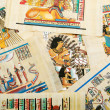Egyptihistory concept with papyrus — Stock fotografie #10069705