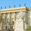 Monument of Humboldt in Berlin - Stock Photo